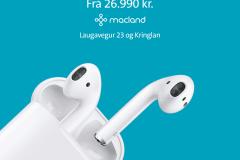 airpodsmiðgorg