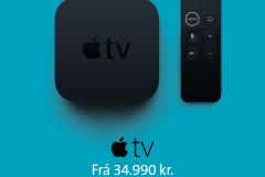 appleTVmiðborg