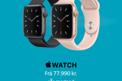 applewatchmiðborgin