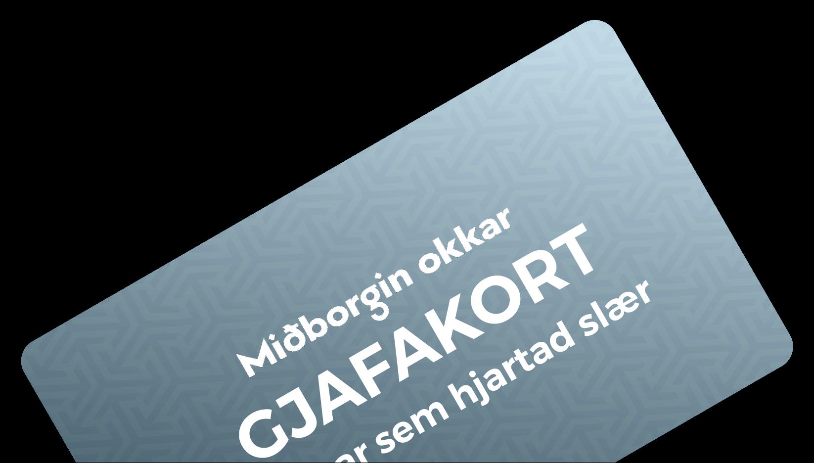 Miðborgin - Gjafakort